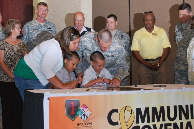 Fort Riley, Geary County reaffirm commitment with Army Community Covenant signing
