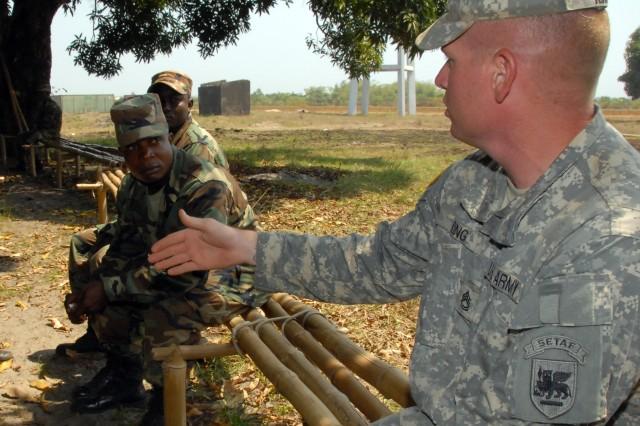 AFRICOM commander sees progress in Africa
