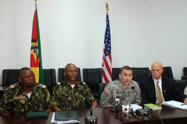 U.S. and Mozambican officials announce Shared Accord 2010