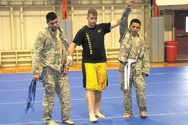 NCR names best warrior during competition