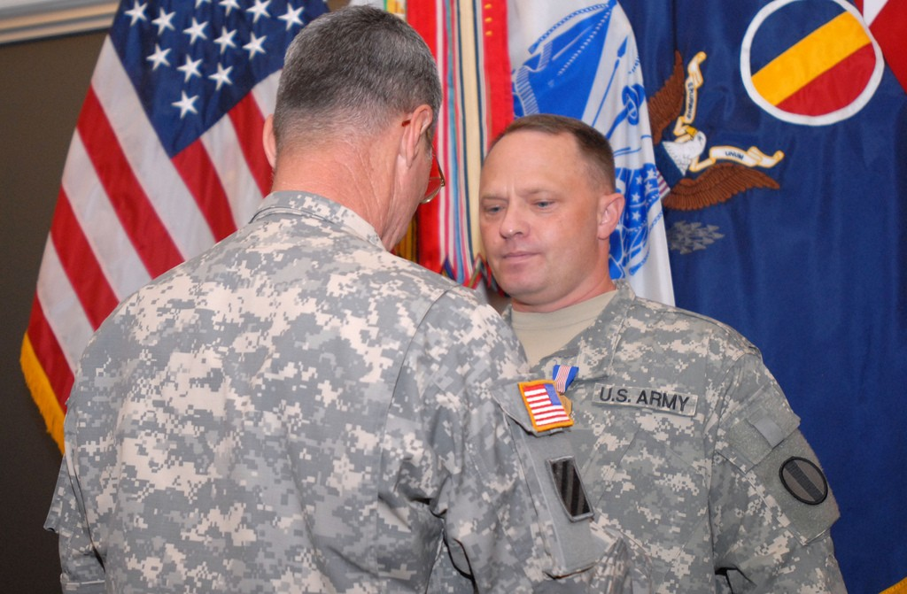 CWO Clifford Bauman Awarded Soldiers Medal