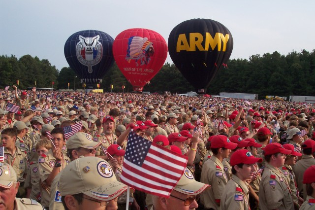 Fort A.P. Hill is expected to welcome some 270,000 this week for the 17th National Scout Jamboree, which coincides with the 100th Anniversary of the Boy Scouts of America.