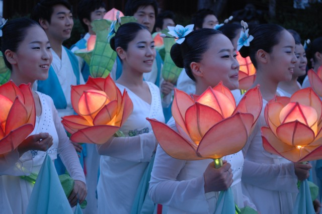 Lotus Lantern Festival events from 2007-2009.