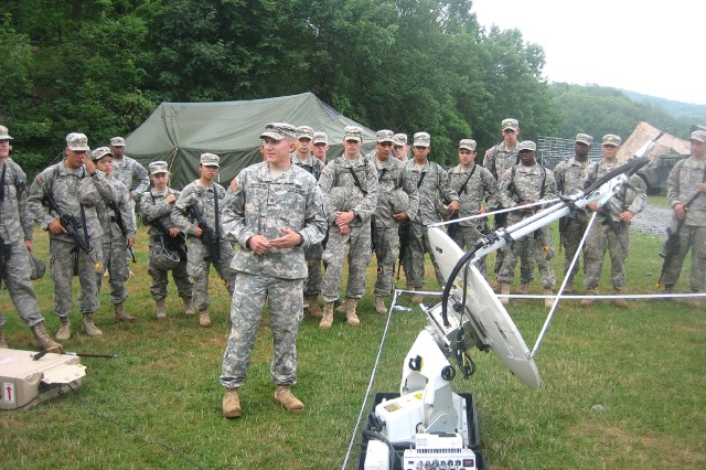 Signal Corps Soldiers showcase skills at West Point