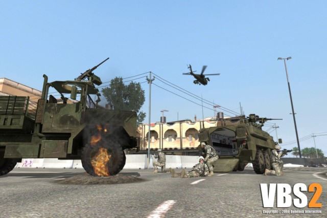The Army is offering VBS2 Lite, a reduced capability version of the Virtual BattleSpace 2 software that anyone with a government Common Access Card can download.