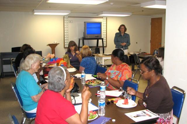Women gather to discuss health, wellness