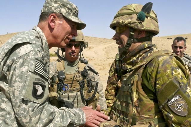Gen. Petraeus and Col. Biagini
