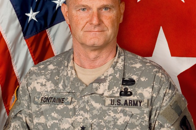 Maj. Gen. Yves J. Fontaine, Commanding General U.S. Army Sustainment Command