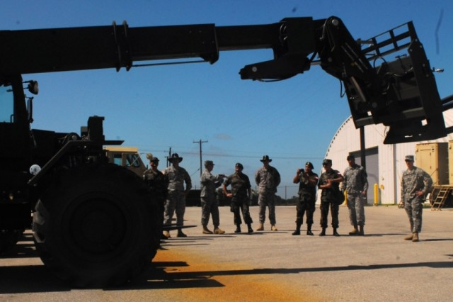 Training with Chilean Army