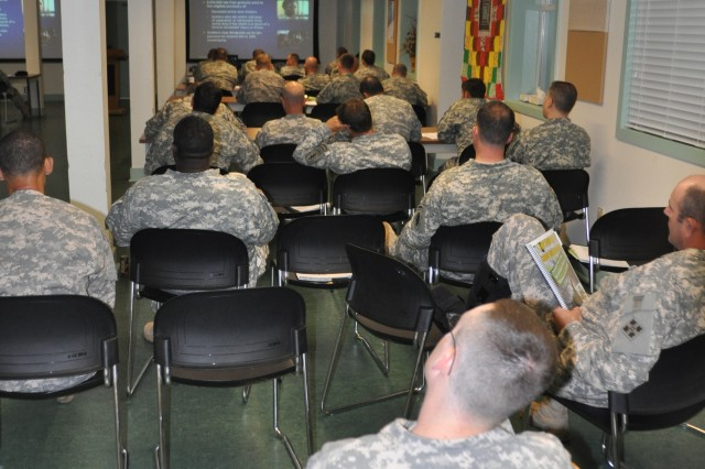 Training aids fallen Soldiers' Families