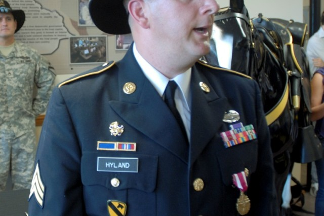 Wounded Iraq vet retires with full Cav honors | Article | The ...