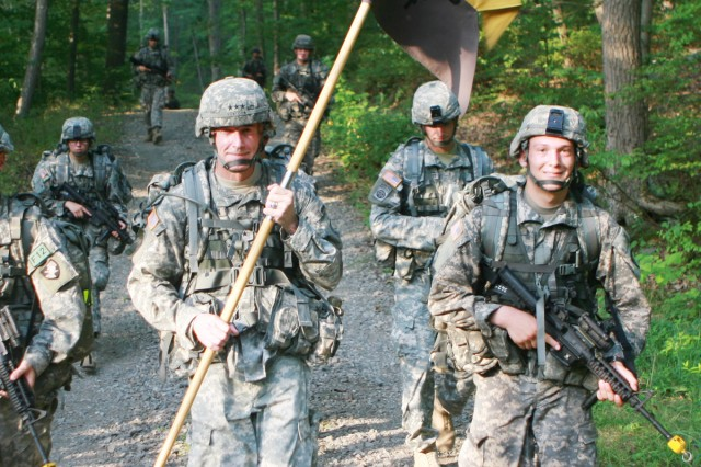 Marching back to West Point