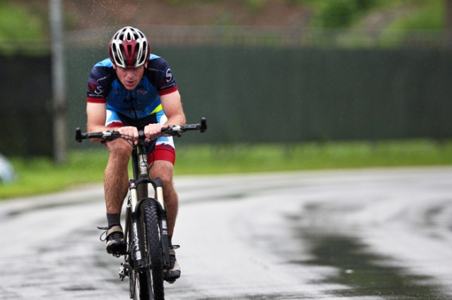 Gash rides away with mountain bike title