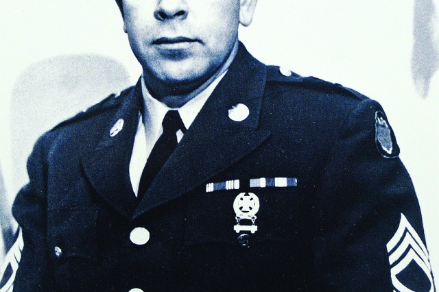Connelly as a sergeant first class in 1961.