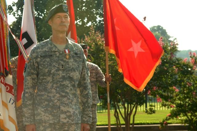 Soldier ends a distinguished career