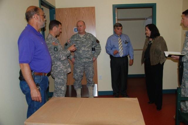 VIPs see new barracks