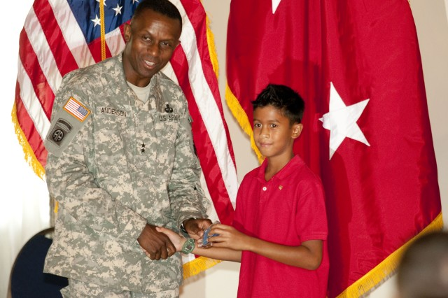 Fort Bragg youth receives Iron Mike Award