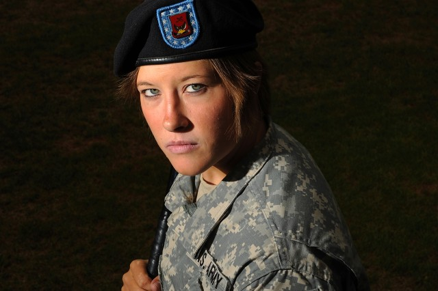 Sgt. Stephanie Hoard is headed to the All-Army women's softball tryout camp.