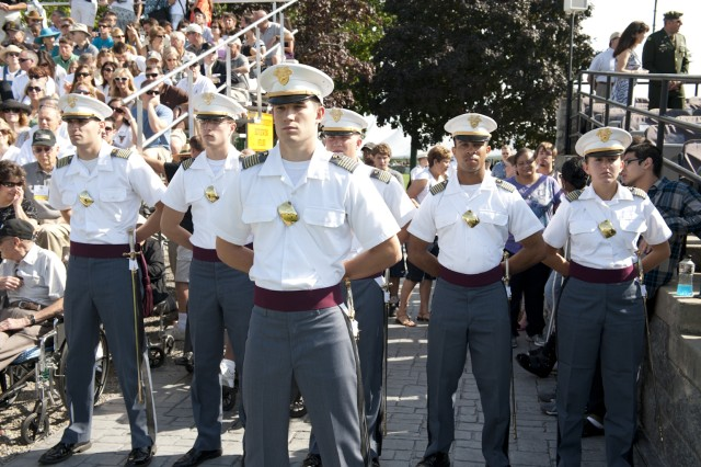 First Captain Marc Beaudoin, Class of 2011, and his brigade and regimental staff will lead the Corps of Cadets through the academic year which began Aug. 16 at West Point, N.Y.