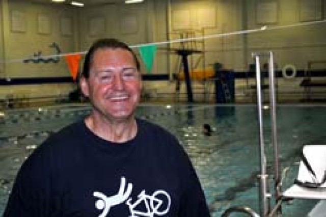 "FORT WAINWRIGHT, Alaska - Stanley Olszewski says Melaven pool is ""the best pool on earth."" The acquatics director has worked at Fort Wainwright since 1986."