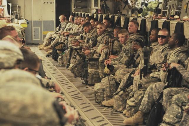 Last U.S. brigade combat team conducts movement out of Iraq