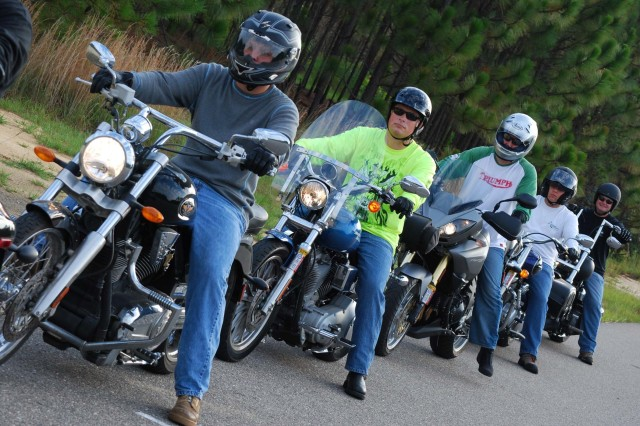 Military information support group at Fort Bragg takes the lead in motorcycle safety