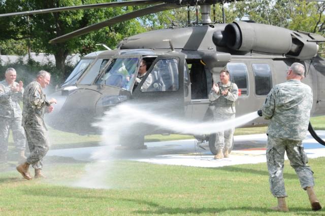 'Master Aviator' pilot's final flight at Fort Rucker