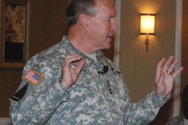 TRADOC Commanding General, Gen. Martin E. Dempsey