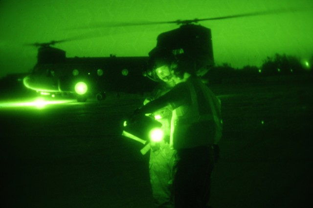 Night helicopter