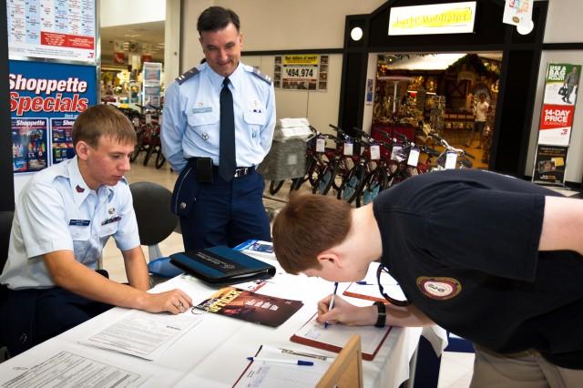 Civil Air Patrol cadet flight takes off in Stuttgart