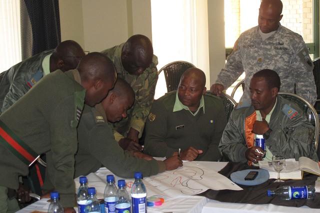 Army Africa MDMP seminar in Botswana