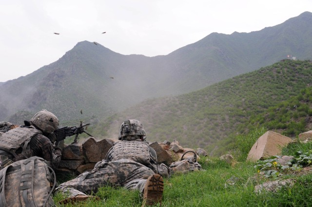 Unit fights off insurgent attack