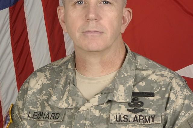 Maj. Gen. Kevin A. Leonard, SDDC commanding general