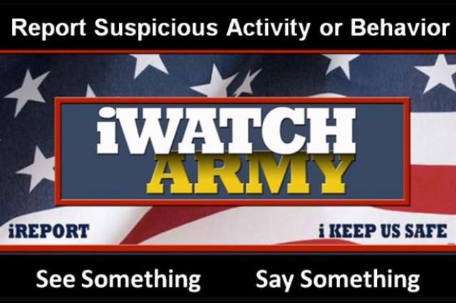Anti-terrorism month promotes 'remaining vigilant'