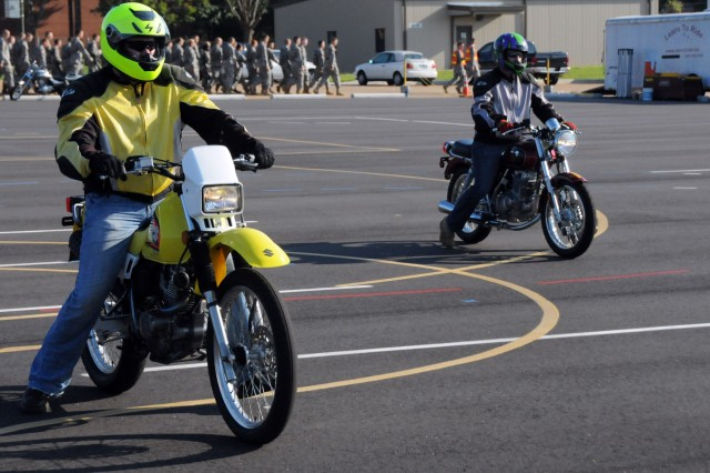 Fort Rucker motorcyclists get new training range