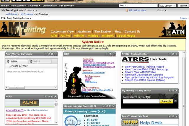 The Award Winning My Training Tab MT2 Pulls Together All Web Based
