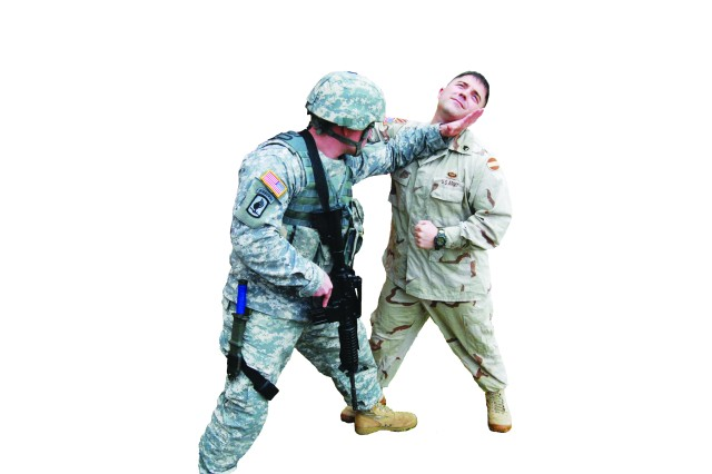 Kickin' it combatives style