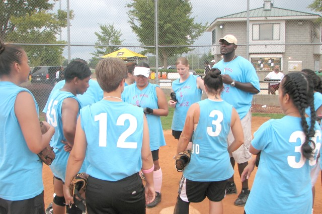 Army Medical Command community gathers for annual softball tournament