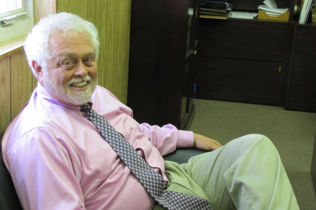 Richard Lewis, a certified Employee Assistance professional, takes a break between meeting with his Employee Assistance Program clients. A licensed counselor, Lewis is able to provide assistance and a listening ear to employees experiencing problems in their lives that may have to do with issues such as anxiety, depression, grief, substance abuse and domestic violence.