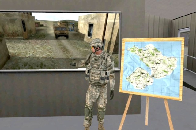 Soldiers in the 35F military occupational speciality started using the Military Intelligence Game, Version 3 in July. The game is based on the Army's Virtual Battlespace 2, with an MI spin.