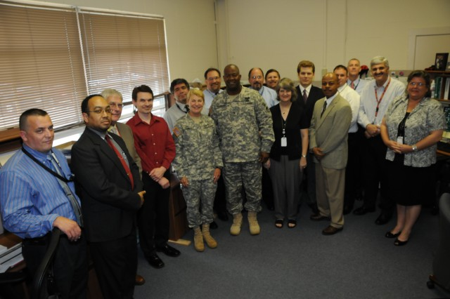 Gen. Dunwoody and the CENTOM staff.