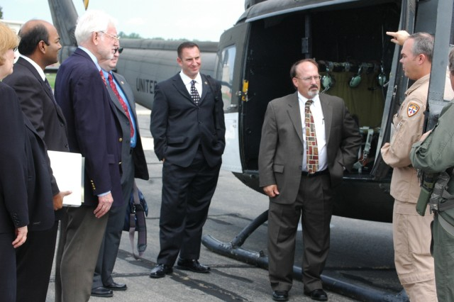 White House team visits APG research facilities