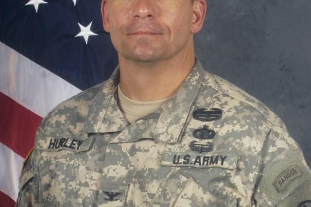 Col. Paul C. Hurley, Jr., SDDC deputy commander