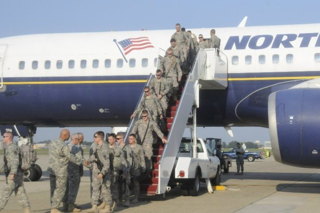 The Old Guard Returns from Operation Iraqi Freedom