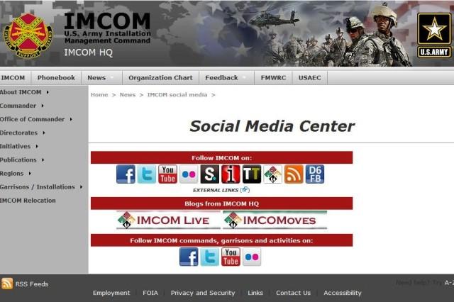 IMCOM Social Media Center