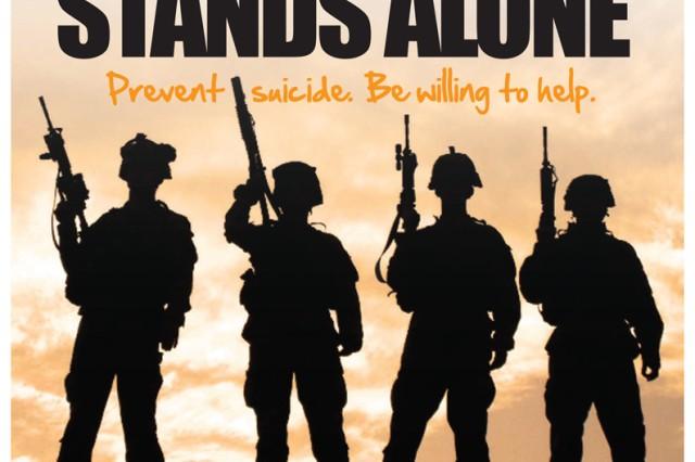 No Soldier stands alone