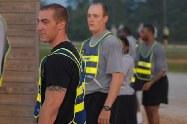 Nearly 60 members of the battalion participated in the challenge.