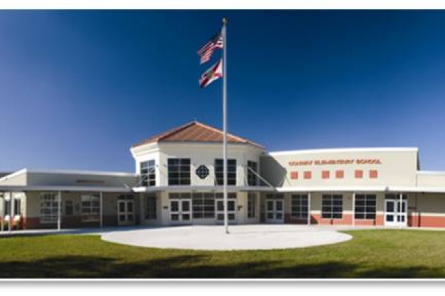 Above is a prototype of Pulaski Elementary School at Hunter Army Airfield, scheduled for completion in 2011. The groundbreaking for construction was held Aug. 24.