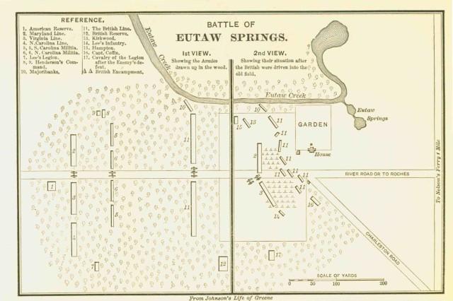 Eutaw Springs Map