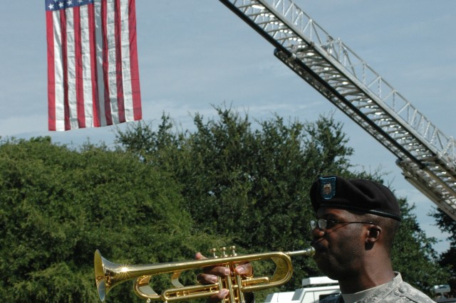 """""""Taps"""" adds to the Patriot Day ceremony solemnity."""